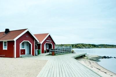 Udden - naustet ved strandkanten